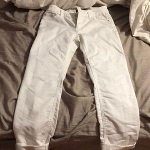 White jeans/White House Black Market